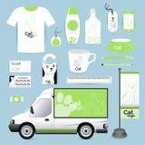 Vector identity Corporate design animal, logo cat Animal Hospita Stock Image