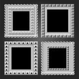 Vector il blocco per grafici nel colore bianco per il vostro disegno royalty illustrazione gratis