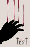 Vector il disegno sanguinante Fotografia Stock