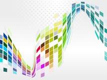 Vector il disegno variopinto del reticolo di mosaico Immagini Stock