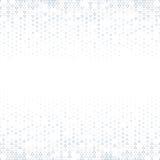 Vector il fondo astratto di semitono, la gradazione di pendenza di struttura di bianco grigio Il triangolo geometrico del mosaico illustrazione di stock