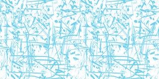 Vector il fondo blu e bianco astratto senza cuciture di lerciume Immagine Stock Libera da Diritti