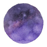 Vector il fondo in cosmico, colori dell'acquerello dello spazio Fotografie Stock