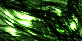 Vector il fondo cosmico d'ardore della menta fatto delle linee nere del metallo royalty illustrazione gratis