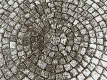 Vector il fondo di una struttura della pavimentazione della via immagini stock