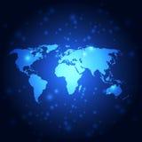 Vector il fondo futuro globale astratto della tecnologia, illustrazione royalty illustrazione gratis