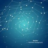 Vector il fondo geometrico Fotografie Stock Libere da Diritti