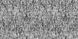 Vector il fondo grigio e nero astratto senza cuciture di lerciume Fotografia Stock