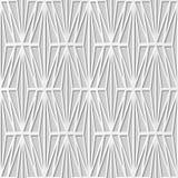 Vector il fondo senza cuciture 327 Diamond Check Cross del modello di arte della carta 3D del damasco Fotografia Stock Libera da Diritti