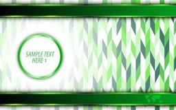 Vector il fondo verde astratto di concetto dell'innovazione della tecnologia di eco Immagine Stock Libera da Diritti