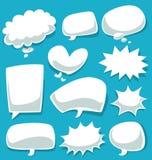 Vector il fumetto e la bolla divertenti del fumetto per l'insieme di storia o comico della raccolta royalty illustrazione gratis