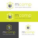 Vector il logo moderno per lo studio di web o finanzi Immagini Stock Libere da Diritti