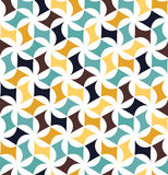 Vector il modello floreale della geometria variopinta senza cuciture moderna, estratto di colore Fotografia Stock Libera da Diritti