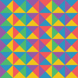 Vector il modello geometrico variopinto astratto retro e la st di art deco illustrazione vettoriale