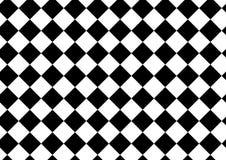 Vector il modello moderno a quadretti, stampa in bianco e nero del tessuto Immagini Stock Libere da Diritti