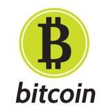 Vector il modello per la designazione del bitcoin cripto di valuta Fotografia Stock Libera da Diritti