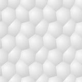 Vector il modello senza cuciture - backgr moderno caotico di poligonal del volume Fotografia Stock