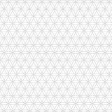Vector il modello senza cuciture della geometria sacra moderna, fiore di vita, progetti la struttura astratta Fotografie Stock