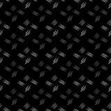 Vector il modello senza cuciture dello scarabocchio, fatto delle linee irregolari sudicie di zigzag Struttura decorativa per la s Fotografie Stock