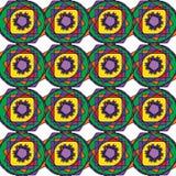Vector il modello variopinto senza cuciture moderno della geometria, fondo geometrico astratto di colore, appoggi la stampa multi illustrazione vettoriale