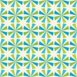 Vector il motivo a stelle variopinto senza cuciture moderno della geometria, fondo geometrico astratto di colore Fotografia Stock