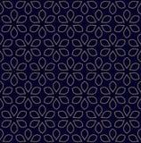 Vector il reticolo floreale Immagini Stock