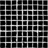 Vector il reticolo senza giunte Quadrati neri isolati su un backg bianco illustrazione di stock