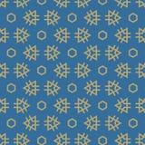 Vector il reticolo senza giunte Ripetizione delle mattonelle geometriche Fotografie Stock Libere da Diritti