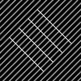 Vector il reticolo senza giunte struttura alla moda moderna Fotografie Stock
