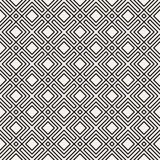 Vector il reticolo senza giunte struttura alla moda moderna Ripetizione del fondo geometrico Grata a strisce Progettazione grafic fotografia stock