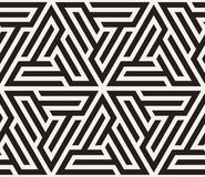Vector il reticolo senza giunte struttura alla moda moderna Ripetizione della piastrellatura geometrica dal elementsr a strisce d illustrazione di stock