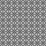 Vector il reticolo senza giunte struttura alla moda moderna Ripetizione delle mattonelle geometriche Fotografia Stock