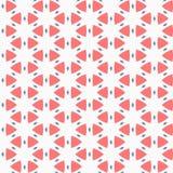 Vector il reticolo senza giunte struttura alla moda moderna Ripetizione delle mattonelle geometriche Composizione dai triangoli e Immagine Stock Libera da Diritti