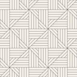 Vector il reticolo senza giunte Struttura astratta alla moda moderna Ripetizione delle mattonelle geometriche illustrazione vettoriale