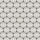 Vector il reticolo senza giunte Struttura astratta alla moda moderna Ripetizione delle mattonelle geometriche immagine stock libera da diritti