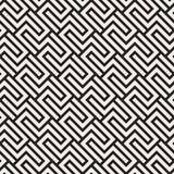 Vector il reticolo senza giunte Struttura astratta alla moda moderna Ripetizione delle mattonelle geometriche fotografie stock