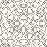 Vector il reticolo senza giunte Struttura astratta alla moda moderna Ripetizione geometrica royalty illustrazione gratis