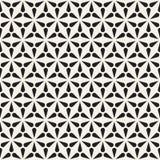 Vector il reticolo senza giunte Struttura astratta moderna Ripetizione delle mattonelle geometriche dalle forme del petalo illustrazione di stock