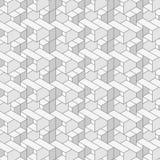 Vector il reticolo senza giunte Struttura geometrica Immagine Stock