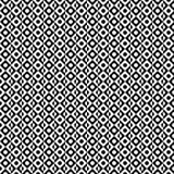 Vector il reticolo senza giunte Struttura geometrica astratta Fondo in bianco e nero Cerchio diviso monocromatico nella progettaz illustrazione vettoriale