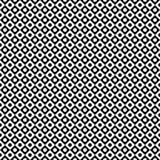 Vector il reticolo senza giunte Struttura geometrica astratta Fondo in bianco e nero Cerchio monocromatico nella progettazione qu illustrazione vettoriale