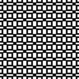 Vector il reticolo senza giunte Struttura geometrica Fondo in bianco e nero Quadrati & progettazione monocromatici di rettangoli royalty illustrazione gratis
