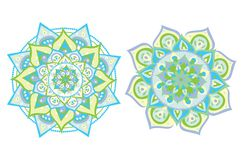 Vector illustrated mandala royalty free illustration