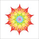 Vector illustrated mandala stock illustration