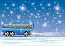 Vector illustratie bus Royalty-vrije Stock Fotografie