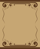 Vector illustratie - Decoratieve Grens Royalty-vrije Stock Afbeelding