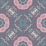 Vector illustratie Grijze achtergrond met roze Royalty-vrije Stock Afbeeldingen