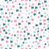 Vector illustratie Het patroon van het sterrenbeeldverhaal royalty-vrije illustratie