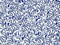 Vector illustratie naadloos patroon Stock Afbeeldingen