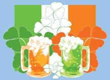 Vector illustratie. St. Patrick Dag. Royalty-vrije Stock Foto's